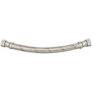 Подводка для воды СТМ ГИГАНТ в стальной оплетке, 1/2 гайка/гайка, 120 cм (CWGGF120)