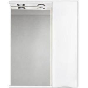 Зеркальный шкаф BelBagno Marino правый, белый (MARINO-SPC-600/750-1A-BL-P-R)