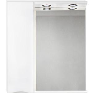 Зеркальный шкаф BelBagno Marino левый, белый (MARINO-SPC-700/750-1A-BL-P-L)