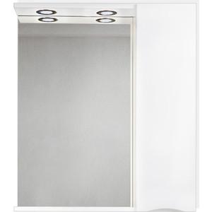 Зеркальный шкаф BelBagno Marino правый, белый (MARINO-SPC-700/750-1A-BL-P-R)