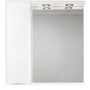Зеркальный шкаф BelBagno Marino левый, белый (MARINO-SPC-800/750-1A-BL-P-L)