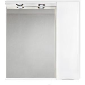 Зеркальный шкаф BelBagno Marino правый, белый (MARINO-SPC-800/750-1A-BL-P-R)