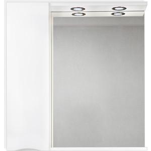 Зеркальный шкаф BelBagno Marino левый, белый (MARINO-SPC-900/750-1A-BL-P-L)