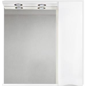 Зеркальный шкаф BelBagno Marino правый, белый (MARINO-SPC-900/750-1A-BL-P-R)