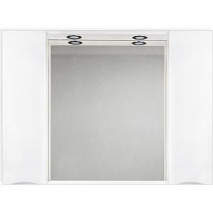 Зеркальный шкаф BelBagno Marino с подсветкой, белый (MARINO-SPC-1200/750-2A-BL-P)