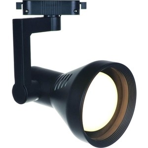 Трековый светильник Artelamp A5109PL-1BK slv трековый светильник slv helia 152961