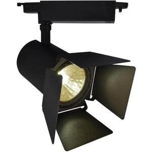 Трековый светодиодный светильник Artelamp A6730PL-1BK цена 2017