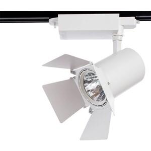 Трековый светодиодный светильник Artelamp A6730PL-1WH цена 2017