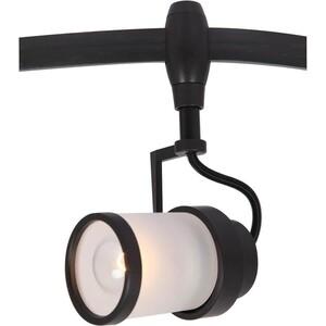 Трековый светильник Artelamp A3056PL-1BK a1582lt 1bk gamba настольный светильник