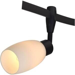 Трековый светильник Artelamp A3059PL-1BK трековый светильник slv d rection 153730