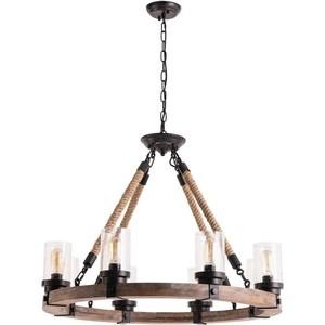 Подвесная люстра Artelamp A1693SP-8BR потолочная люстра artelamp capri a6344pl 8br