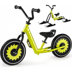 Беговел с лыжами и колесами Small Rider Roadster - X Combo (зеленый)
