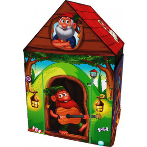 Домик палатка Small Rider с матрасиком влагостойкий с ковриком House (замок гномиков зеленый)