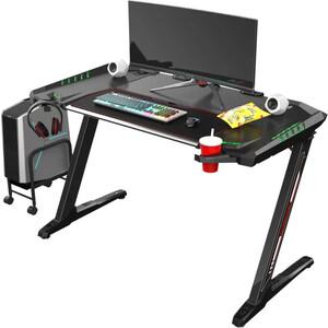 Компьютерные стол Eureka Z2 c RGB подсветкой черный