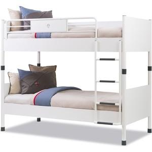 Двухъярусная кровать Cilek White 200x90 фото