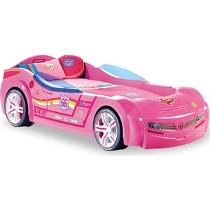 Кровать-машина Cilek Biturbo розовая