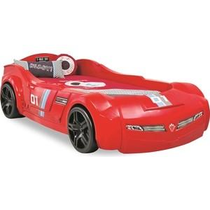 Кровать-машина Cilek Turbo max красный
