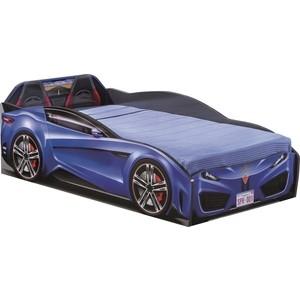 Кровать-машина Cilek Spyder car dark blue
