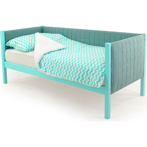 Детская кровать-тахта Бельмарко Skogen мятный мягкая
