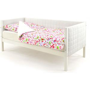 Детская кровать-тахта Бельмарко Skogen белый мягкая