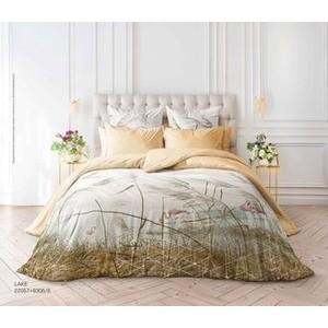 Комплект постельного белья Verossa Перкаль Евро Lake (738837)