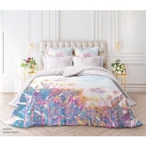 цена Комплект постельного белья Verossa Перкаль Семейный Digital (738839) онлайн в 2017 году