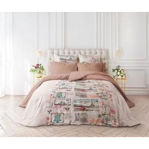 цена Комплект постельного белья Verossa Перкаль Семейный Cartolina (741056) онлайн в 2017 году