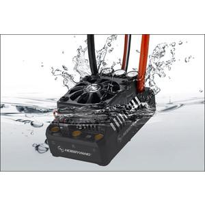 Бесколлекторный бессенсорный влагозащищенный регулятор HobbyWing Ezrun WP MAX5 V3 для шот-корс, багги, монстров масштаба 1/5 - HW-EZRUN-MAX5-V3