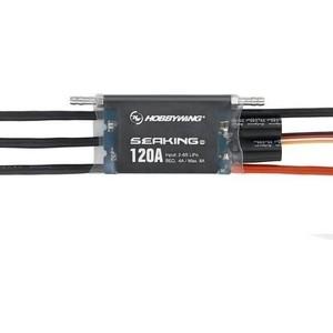 Бесколлекторный бессенсорный влагозащищенный регулятор HobbyWing Seaking 120A - HW-SK-120A