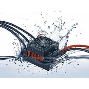 Бесколлекторный влагозащищенный регулятор HobbyWing Quicrun WP-10BL60 для моделей масштаба 1/10 - HW-QuicRun-WP-10BL60