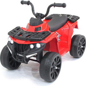 Детский квадроцикл FUTAI R1 на резиновых колесах 6V - 3201-RED