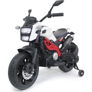 Детский электромотоцикл FUTAI Harley Davidson - DLS01-WHITE-RED