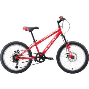Велосипед Black One Ice 20 D красный/белый/серый