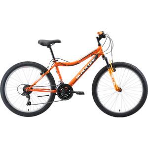 Велосипед Black One Ice 24 оранжевый/серый/белый