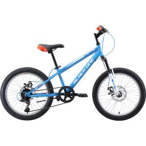 Велосипед Black One Ice Girl 20 D голубой/белый/оранжевый