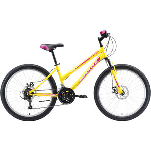 Велосипед Black One Ice Girl 24 D желтый/розовый/белый