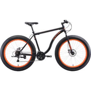 Велосипед Black One Monster 26 D чёрный/оранжевый 20