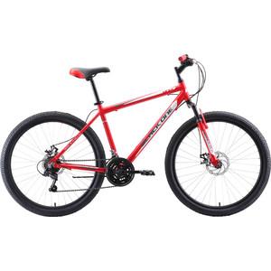 Велосипед Black One Onix 26 D Alloy (2020) красный/серый/белый 18