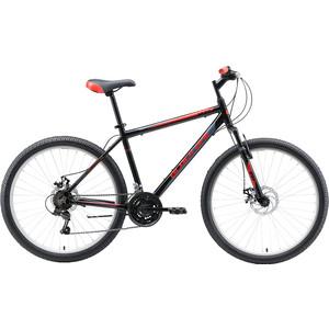 Велосипед Black One Onix 26 D Alloy чёрный/серый/красный 18
