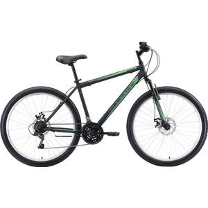 Велосипед Black One Onix 26 D (2020) чёрный/серый/зелёный 20