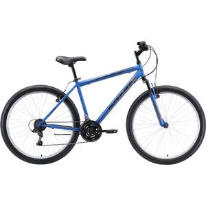 Велосипед Black One Onix 26 (2020) голубой/серый/чёрный 18