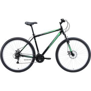 Велосипед Black One Onix 29 D Alloy чёрный/серый/зелёный 18