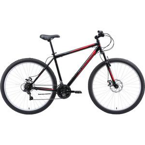Велосипед Black One Onix 29 D (2020) чёрный/красный/серый 22