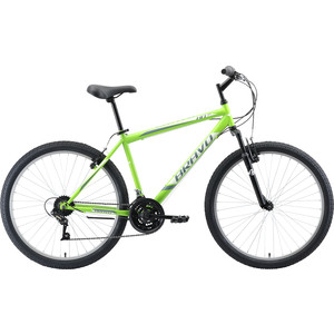 Велосипед Bravo Hit 26 зелёный/белый/серый 20