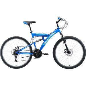 Велосипед Bravo Rock 26 D голубой/белый 18