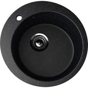 Кухонная мойка EcoStone ES-013 черная (ES-13-308)