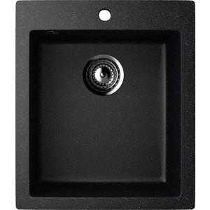 Кухонная мойка EcoStone ES-014 черная (ES-14-308)