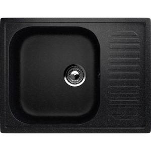 Кухонная мойка EcoStone ES-018 черная (ES-18-308)