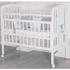 Кроватка Incanto HUGGE колесо цвет белый ST-0041/0