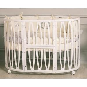 Кроватка Incanto Estel ACQUA 10 в 1 цвет Белый KR-0076/0 кроватка трансформер incanto amelia 8 в 1 белый kr 0027 0